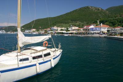 Yacht, Sami, Kefalonia, Greece-Peter Thompson-Photographic Print