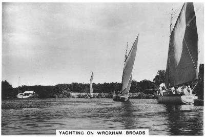 Yachting on Wroxham Broads, 1936--Giclee Print