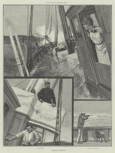 Yachting Sketches--Giclee Print