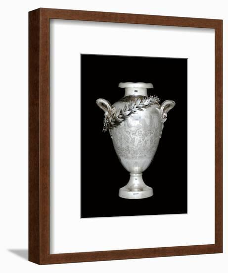 Yachting trophy, 1892 (silver) (see also 486988)-Tiffany & Company-Framed Photographic Print