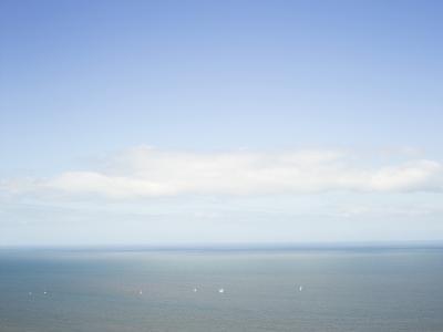 Yachts at Sea, United Kingdom, Europe-Craig Easton-Photographic Print