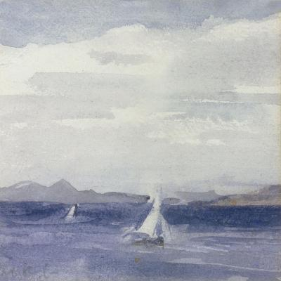 Yachts at Sea-Francis Campbell Boileau Cadell-Giclee Print