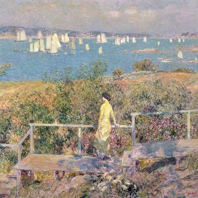 Yachts, Gloucester, 1889-Childe Hassam-Giclee Print
