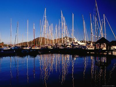Yachts in Marina at Falmouth Harbour-Richard I'Anson-Photographic Print