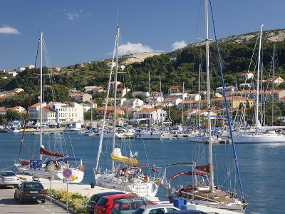 Yachts Moored in the Harbour, Rab Town, Island of Rab, Primorje-Gorski Kotar, Croatia, Europe-Ruth Tomlinson-Photographic Print