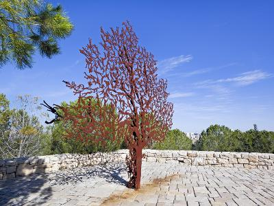 Yad Vashem Holocaust Memorial, Partisans Panorama Memorial Tree, Mount Herzl, Jerusalem, Israel-Gavin Hellier-Photographic Print