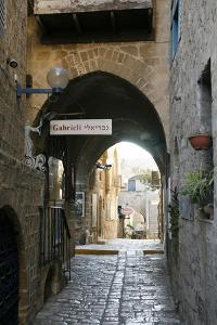 Alleys in the Old Jaffa, Tel Aviv, Israel, Middle East by Yadid Levy