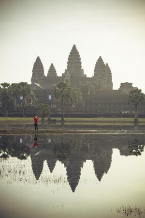Angkor Wat Temple, Angkor, UNESCO World Heritage Site, Cambodia, Indochina, Southeast Asia, Asia