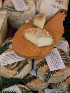 Cheese in the Market, Ajaccio, Corsica, France by Yadid Levy