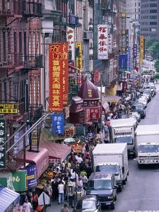 Chinatown, Manhattan, New York, New York State, United States of America, North America by Yadid Levy