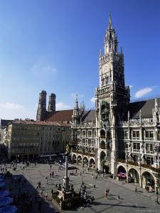 City Hall on Marienplatz, Munich, Bavaria, Germany, Europe by Yadid Levy