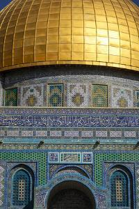 Dome of the Rock Mosque, Temple Mount, UNESCO World Heritage Site, Jerusalem, Israel, Middle East by Yadid Levy