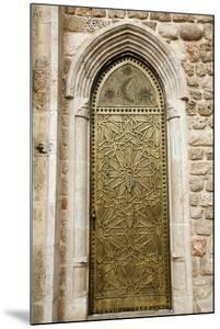 Door Detail at Old Jaffa, Tel Aviv, Israel, Middle East by Yadid Levy