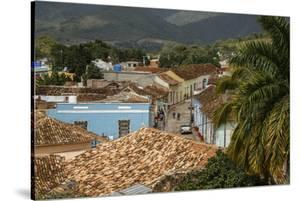 Elevated View over the Colonial City of Trinidad, UNESCO World Heritage Site by Yadid Levy
