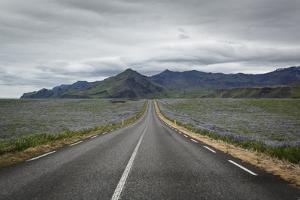 Empty Road, Iceland, Polar Regions by Yadid Levy