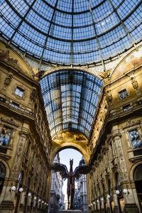 Galleria Vittorio Emanuele Ii, Milan, Lombardy, Italy, Europe by Yadid Levy