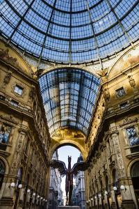 Galleria Vittorio Emanuele Ii, Milan, Lombardy, Italy, Europe by Yadid Levy