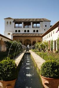 Generalife Gardens, Alhambra Palace, UNESCO World Heritage Site, Granada, Andalucia, Spain, Europe by Yadid Levy