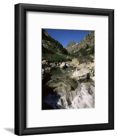 Gorges De La Restonica, Bergeries De Grotelle, Corsica, France, Europe