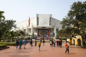 Ho Chi Minh Museum, Hanoi, Vietnam, Indochina, Southeast Asia, Asia by Yadid Levy