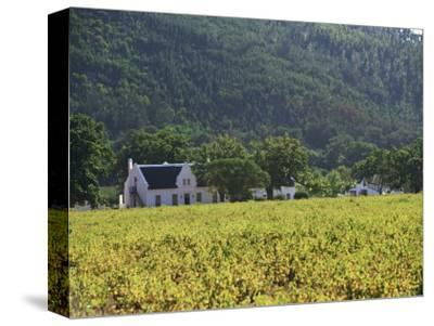 House in the Wine Growing Area of Franschhoek, Cape Province, South Africa, Africa