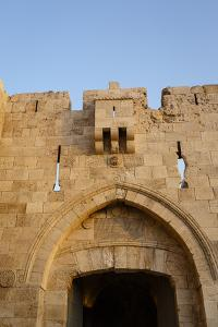 Jaffa Gate in the Old City, UNESCO World Heritage Site, Jerusalem, Israel, Middle East by Yadid Levy
