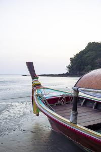 Longtail Boat on Ko (Koh) Lanta, Thailand, Southeast Asia, Asia by Yadid Levy