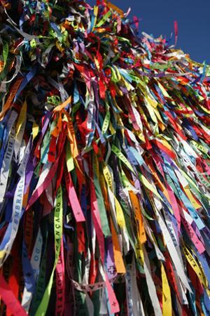 Lucky Ribbons Tied at Igreja Nosso Senhor do Bonfim Church, Salvador (Salvador de Bahia), Brazil