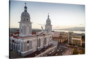 Nuestra Senora De La Asuncion Cathedral at Parque Cespedes, Santiago De Cuba, Cuba by Yadid Levy