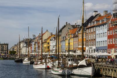 Nyhavn, Copenhagen, Denmark, Scandinavia, Europe by Yadid Levy
