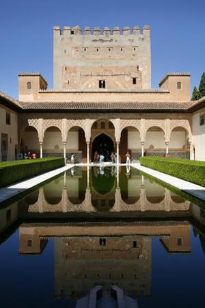 Palacio De Comares, One of the Three Palaces That Forms the Palacio Nazaries, Alhambra