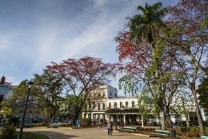 Parque Libertad, Matanzas, Cuba, West Indies, Caribbean, Central America by Yadid Levy