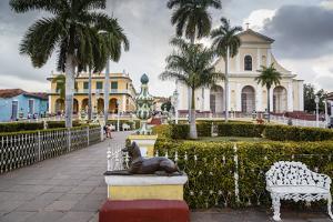 Plaza Mayor, Trinidad, UNESCO World Heritage Site, Sancti Spiritus Province, Cuba by Yadid Levy