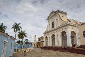 Plaza Mayor with the Iglesia Parroquial De La Santisima Trinidad and the Museo Nacional De La Lucha by Yadid Levy