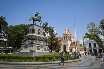 Plaza San Martin, Cordoba City, Cordoba Province, Argentina, South America, South America