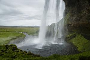 Seljalandsfoss Waterfall, South Iceland, Iceland, Polar Regions by Yadid Levy