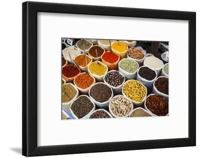 Spice Stall at Mapusa Market, Goa, India, Asia