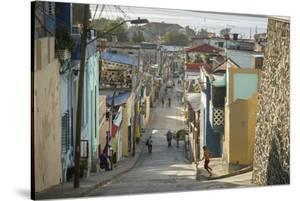 Street Scene at the Tivoli Neighborhood, Santiago De Cuba, Cuba, West Indies, Caribbean by Yadid Levy
