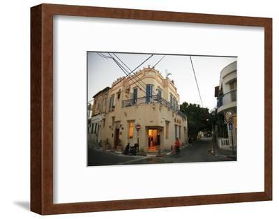 Street Scene at the Trendy Neve Tzedek Neighbourhood, Tel Aviv, Israel, Middle East