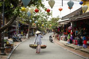 Street Scene, Hoi An, Vietnam, Indochina, Southeast Asia, Asia by Yadid Levy