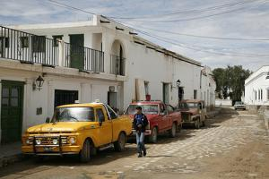 Street Scene in Cachi, Salta Province, Argentina, South America by Yadid Levy