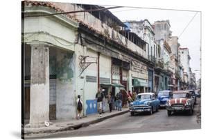 Street Scene in Centro Havana, Havana, Cuba, West Indies, Caribbean, Central America by Yadid Levy
