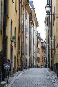 Street Scene in Gamla Stan, Stockholm, Sweden, Scandinavia, Europe by Yadid Levy