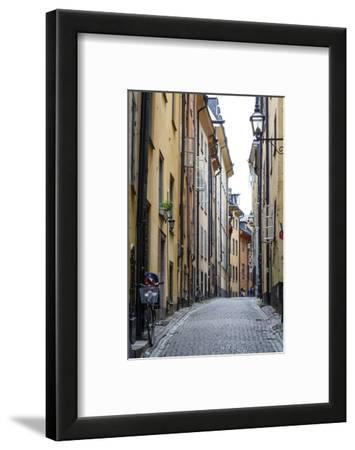 Street Scene in Gamla Stan, Stockholm, Sweden, Scandinavia, Europe