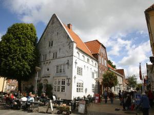 Street Scene in Tonder, Jutland, Denmark, Scandinavia, Europe by Yadid Levy
