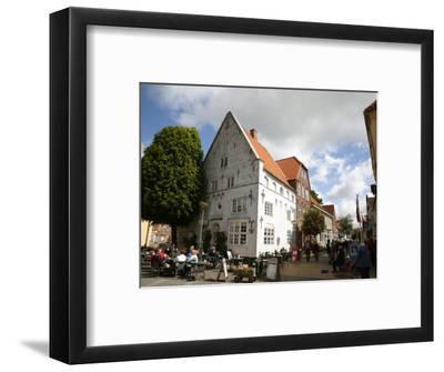 Street Scene in Tonder, Jutland, Denmark, Scandinavia, Europe