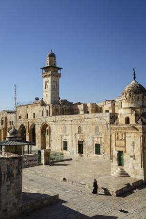 Temple Mount, UNESCO World Heritage Site, Jerusalem, Israel, Middle East