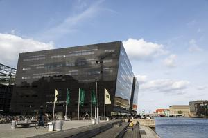 The Black Diamond Building, Housing the Royal Library, Copenhagen, Denmark, Scandinavia, Europe by Yadid Levy