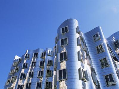 The Neuer Zollhof Building by Frank Gehry, Nord Rhine-Westphalia, Germany by Yadid Levy