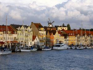 The Port of Sonderborg, Jutland, Denmark, Scandinavia, Europe by Yadid Levy